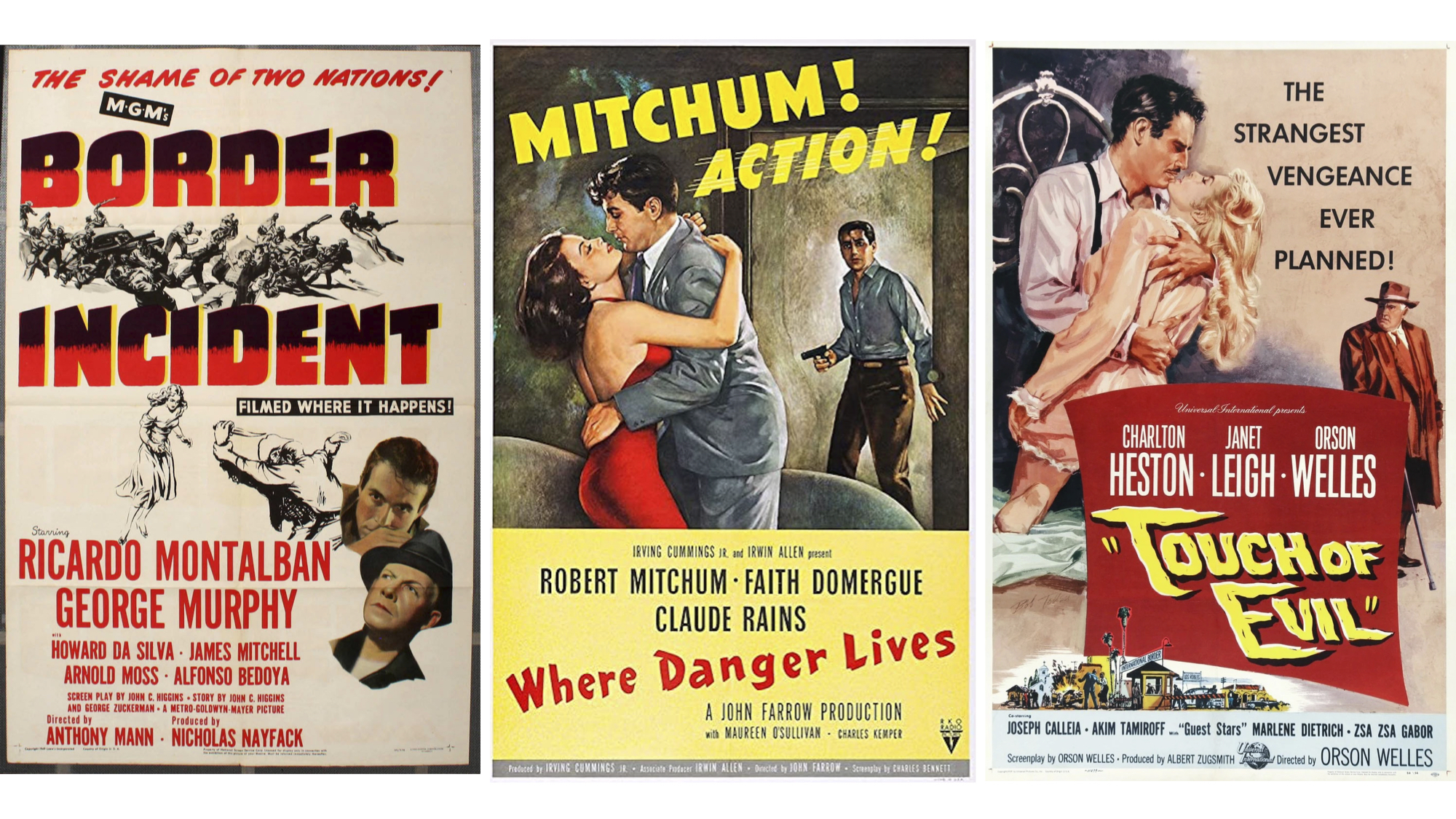 Border Incidents Film Posters