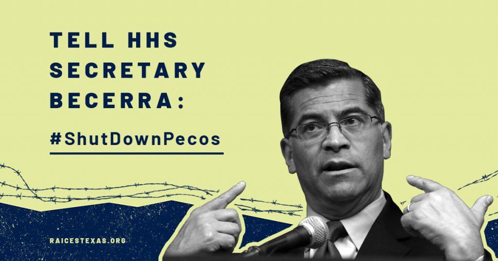 Take Action to Shut Down Pecos